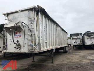 2002 Spec Tech Hydraulic Walking Floor 45' Trailer