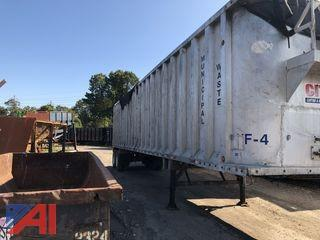 2003 Spec Tech Hydraulic Walking Floor 45' Trailer