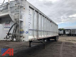 2007 East Hydraulic Walking Floor 45' Trailer