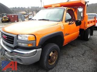 (#2) 2006 GMC Sierra 3500 Dump Truck