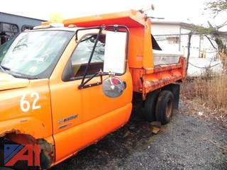 (#8) 2003 Chevy Silverado 3500 Dump Truck with Sander