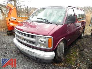 (#11) 2001 Chevy Express 1500 Van