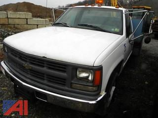 (#12) 1996 Chevy C/K 3500 Utility Truck