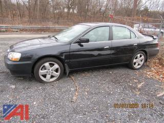 2002 Acura TL 4 Door Sedan