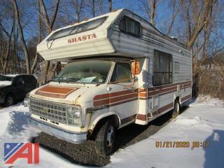 1981 Chevy Shasta Motor Home
