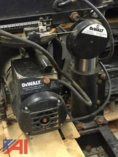 """DeWalt 12"""" Radial Arm Saw"""