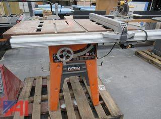 RIDGID TS3650 Cast Iron Table Saw