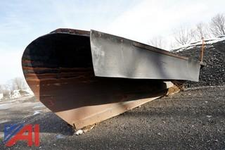 Steel 11 1/2' One Way Plow Blade