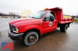 2002 Ford F350 XL Super Duty Dump Truck