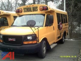 2009 GMC Savana G3500 Mini School Bus