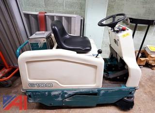 Tennant 6100 Ride On Carpet Sweeper