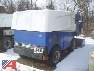 Zamboni 500 Ice Cleaner