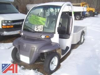 2002 GEM E825 Flat bed Cart