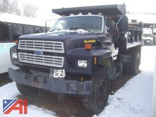 1986 Ford F8000 Dump Truck