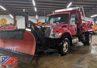 2005 International 7500 Dump Truck & Plows