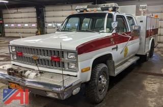 1982 Chevy K30 Utility Rescue Truck