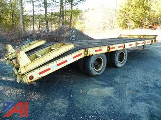 1985 Eager Beaver 20' Trailer with Ramps