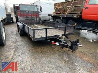 18' Equipment Trailer with Ramp