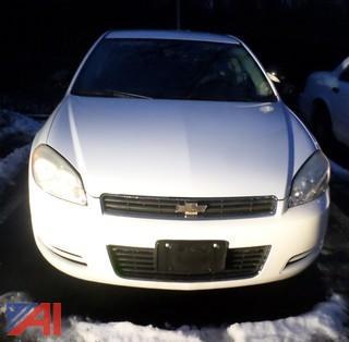 2010 Chevy Impala 4 Door/Police Vehicle