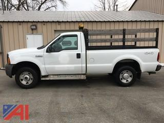 2006 Ford F250 XL Super Duty Stake Truck