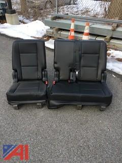 (#17) Rear 60/40 Split Seats for a 2017 Explorer