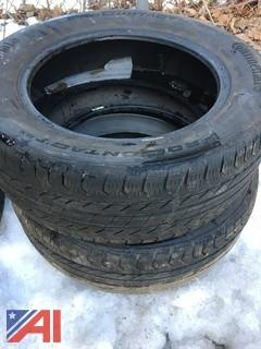 (#23) Continental Pro Contact GX 225/60R17 Tires