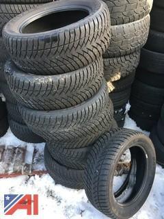 (#33) Goodyear Eagle Ultra Grip M+S 245/55R18 Tires