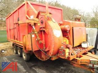 Commercial Big-T-Vac Leaf Machine