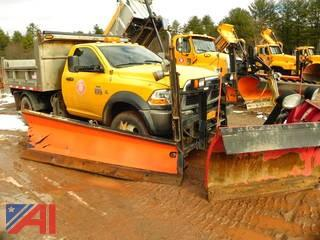 2011 Dodge Ram 5500 Dump Truck with with Plow, Wing and Sander