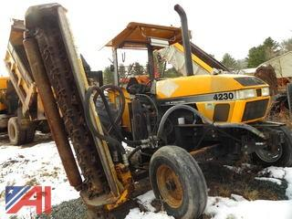 1995 Case International 4230 Tractor with Flail Mower