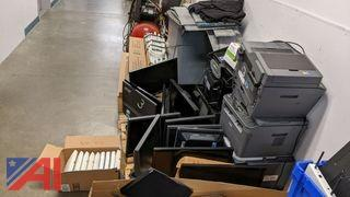 Computers, Monitors, Copiers, Security Cameras
