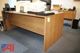 Desk, Bookcases & Cabinet