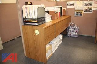 Desk System & Walls