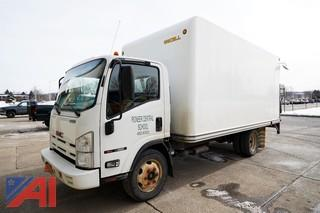 2009 GMC W4500 16' Box Truck with Liftgate