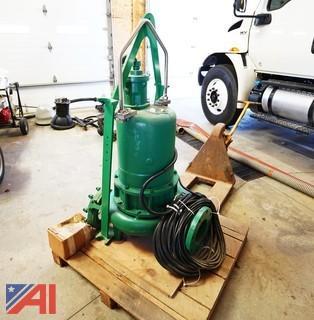 Hydromatic 15Hp 460V Submersible Sewage Pump