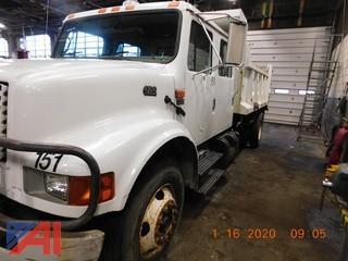 (#151) 2001 International 4700 Dump Truck