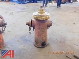 (#1589) 1983 US Pipe Co. Fire Hydrant