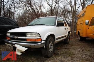 2000 Chevy Blazer SUV