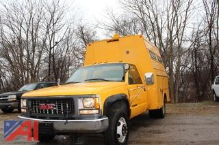 2000 GMC Sierra Classic 3500 Utility Truck