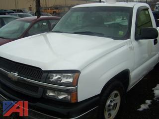 2003 Chevy Silverado 1500 Pickup Truck