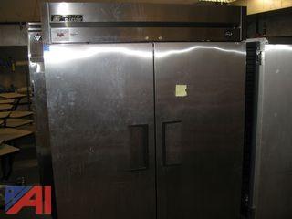 True 2 Door Refrigerator