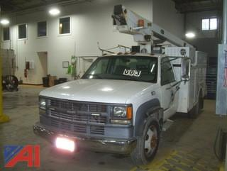 2000 Chevy 3500HD Utility Bucket