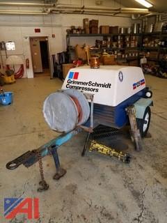 Grimmer Schmidt 125 Towable Air Compressor