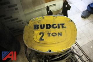 Budgit 2 Ton Electric Hoist
