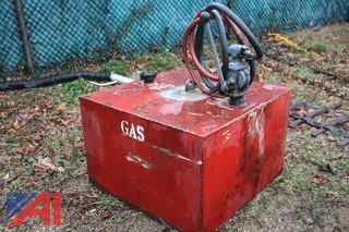 Gas Tank with Pump