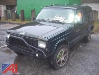 1996 Jeep Cherokee SUV