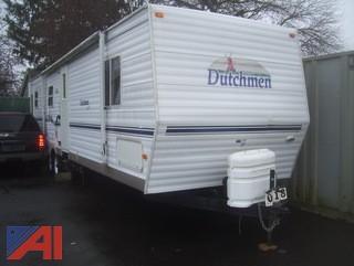 2002 Dutchman Classic Camping Trailer