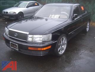 1990 Lexus LS 400 Sedan