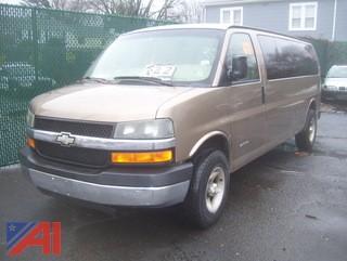2003 Chevy Express 3500 Van