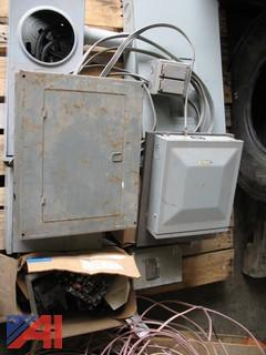 Misc. Electrical Panel Boxes & Wire